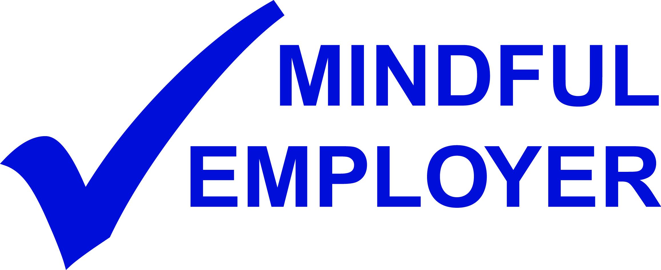 Mindful Employer logo blue